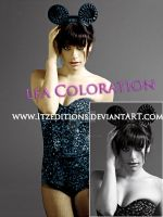 Lea coloration by Itzeditions