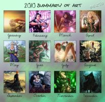 2010 summary of art by diabolumberto