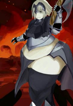Jeanne Alter (of sacrifice) by salting-the-earth