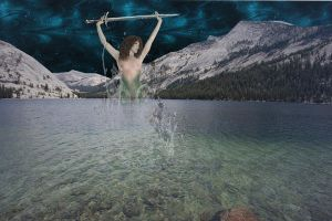 Lady of the Lake by SilverRiverArt