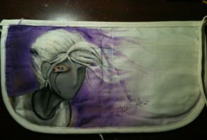 Canvas Pouch~ Full View of the Back by Yavanni
