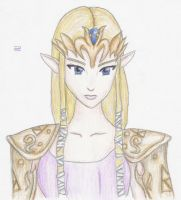 Twilight Princess Zelda by Lady-of-Link