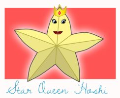 Adventure Time OC: Star Queen Hoshi by underaoised