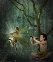Dance of the Fae by sammykaye1