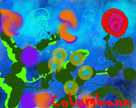 Untitled Drawing by Columbiana