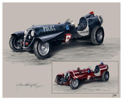 30's Police Car Concept by ReneAigner