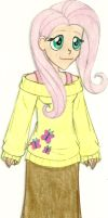 MLP - Human!Fluttershy by Jackie-Chaos-Bunny