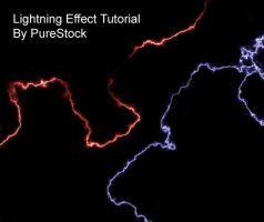 Lightning tutorial. by PureStock
