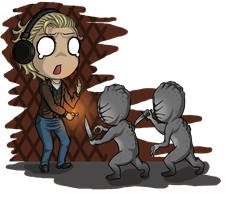 Pewdiepie in Silent Hill by ocelot-girl