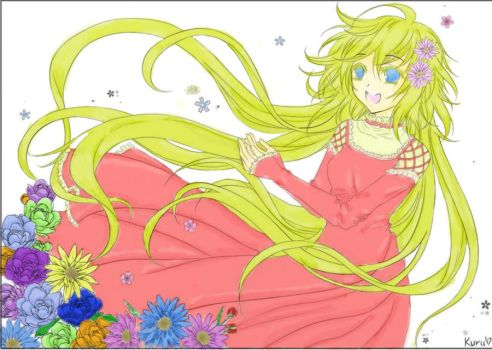 Kobato :Coloured: by ReverentWings