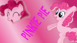 PinkiePie Wall paper by ChillyBilly4