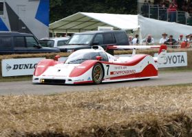 A Toyota TS010 by gradge