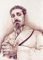 Serj in -s e p i a- by tavington