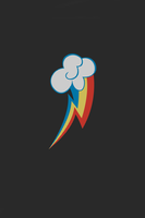Rainbow Dash iPhone WP -960x640- by gandodepth