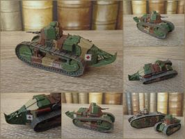 Renault FT [1:72] by WormWoodTheStar