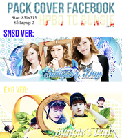 PACK COVER FACEBOOK: HAPPY BIRTHDAY TO BUNGIE JUNG by lovefany96
