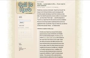 Call It Herb by cjgraphix