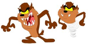 Taz the Tasmanian Devil by SammyD91