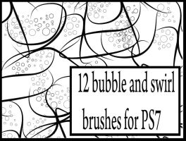 Bubble and swirl brushes by stuff-by-hagrid