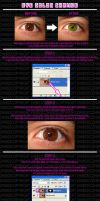 Change Eye Color Tutorial by zh0823
