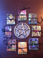 Solar Wheel of the Year Invocation Booklets by CarlaVK