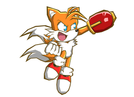 Sonic Battle Wii: Tails by Hawke525