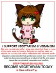 VEGAN - VEGETARIAN SUPPORT by Meawsy
