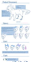 [ POCKET DRAVICON - species/rarity chart ] by pew
