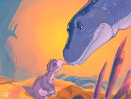FANART: Land Before Time by s0pas