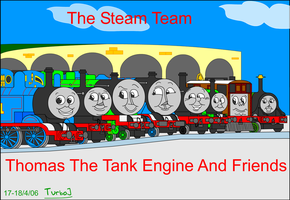 The Steam Team by TurboJUK