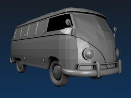 1967 VW Type 2 by FluffyBlueCow