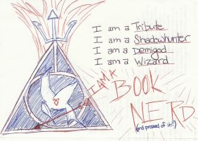 I AM A BOOK NERD 1 by EllaMinnoP