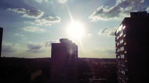 sunny daytime flat view by LETSOC