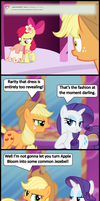 Ask Honest Applejack One Off Gala Special by bronybyexception