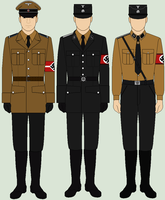 Selection of National Socialist Uniforms by bar27262