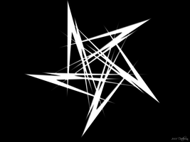 Shadow Pentagram by Daethorian