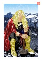 Thor in Jotunheim by BrentJS