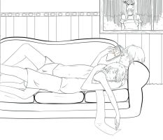 APH: Sweet moment by Lazy-Pineapple