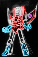 starscream neon by AlanSchell