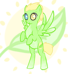 Leafy bash: pony adoptable (awaiting payment) by Magnet-Crayon