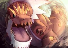 Fav Rock Type - Tyrantrum by KoiDrake