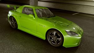 Honda 2003 S2000 Long Hard top by melkorius