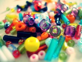 Colourful Beads II by world-by-danielle