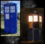 Homemade TARDIS build by EruwaedhielElleth