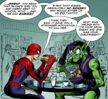 LIID Week 99: Spidey and The Goblin! by johntrumbull