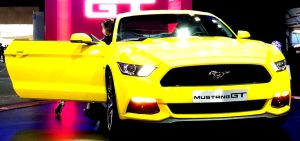 Yellow Mustang GT Showcase Presentation by toyonda