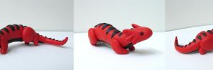 Salamander Sculpture by MowenDesigns