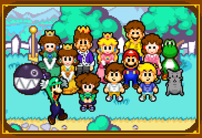 mario's family photo by tebited15