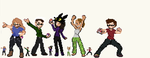 Pokemon Trainers! by Amicus-Nocte