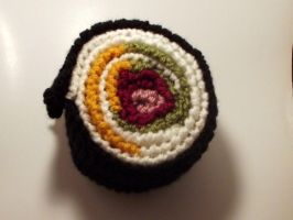Sushi Inspired Scarf by AutumnLucy